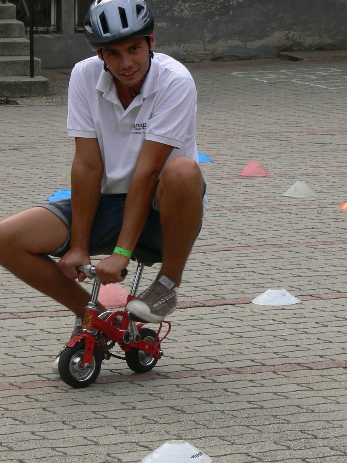 Játékbérlés rendezvényre: trükkös bringa