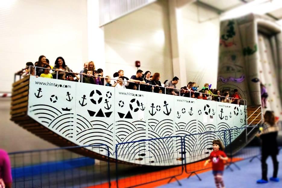 Játékbérlés rendezvényre: hintahajó
